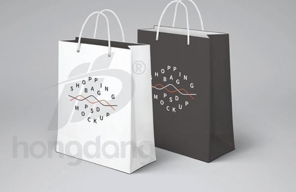 Mẫu túi giấy cho shop thời trang đơn giản