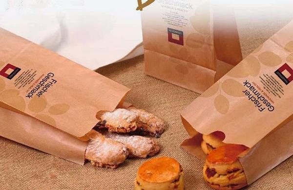Mẫu túi giấy đựng bánh mỳ đẹp