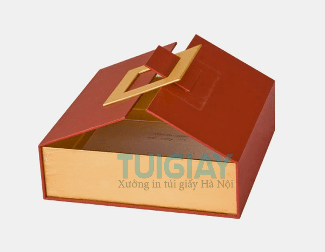 In hộp giấy bằng chất liệu carton sóng