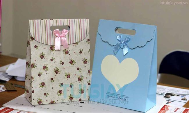 Mẫu túi giấy đựng quà đẹp