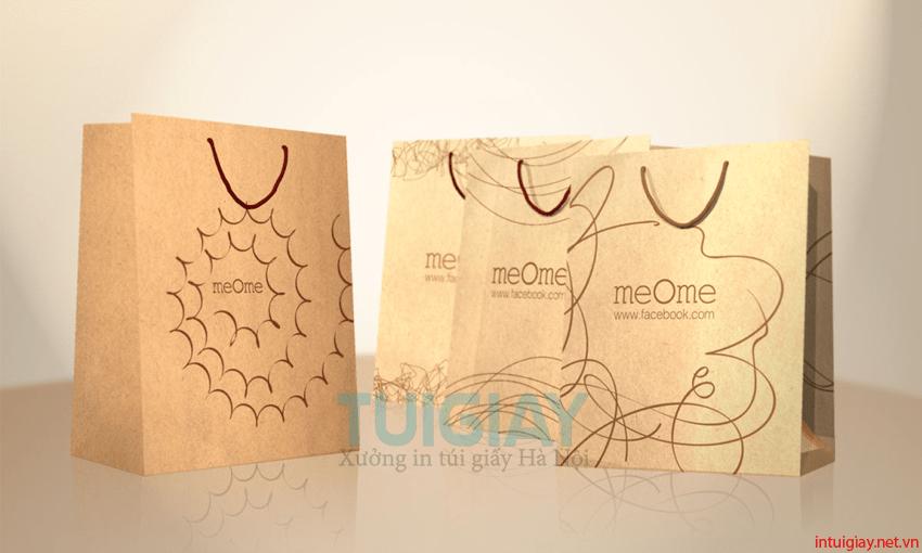 thiết kế túi giấy giá rẻ