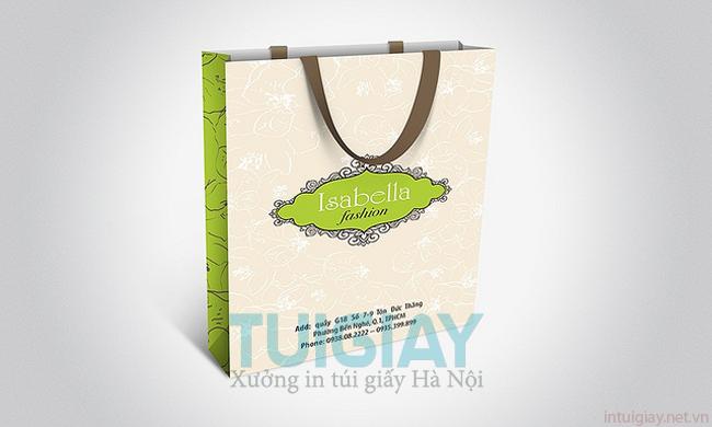 Thiết kế túi giấy cho shop thời trang chuyên nghiệp