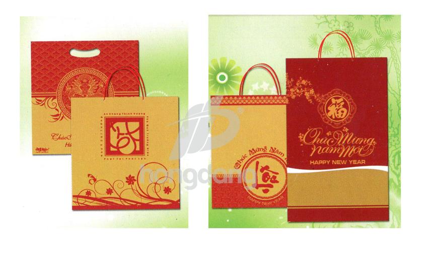 in túi giấy đựng quà tết tại Hà Nội