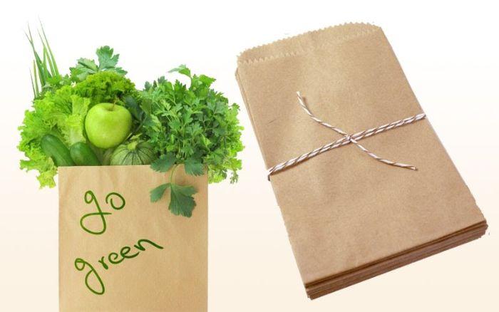 Túi giấy đựng thực phẩm bảo vệ môi trường, an toàn cho sức khỏe