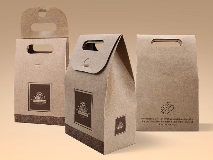 Dịch vụ in túi giấy kraft đựng cà phê lưu trọn hương thơm