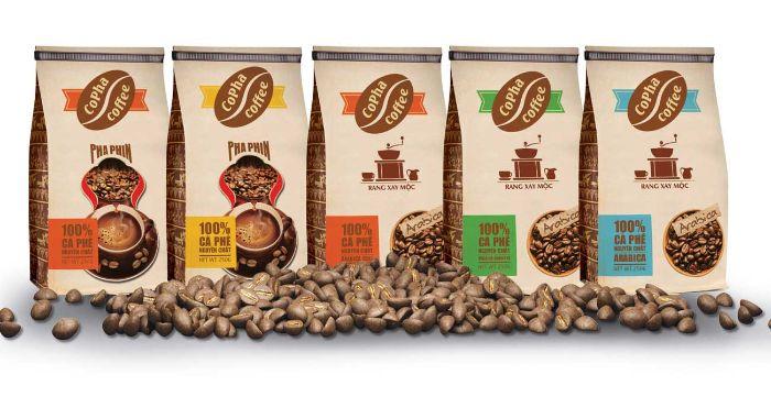 Các thương hiệu cà phê đang dần chuyển sang sử dụng bao bì làm từ giấy Kraft