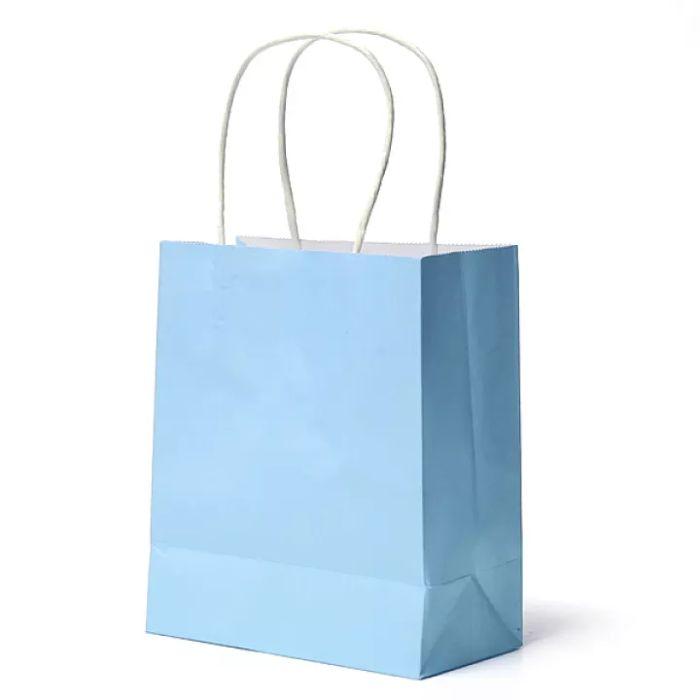 Có nhiều mẫu túi giấy kraft màu trơn cho khách hàng lựa chọn