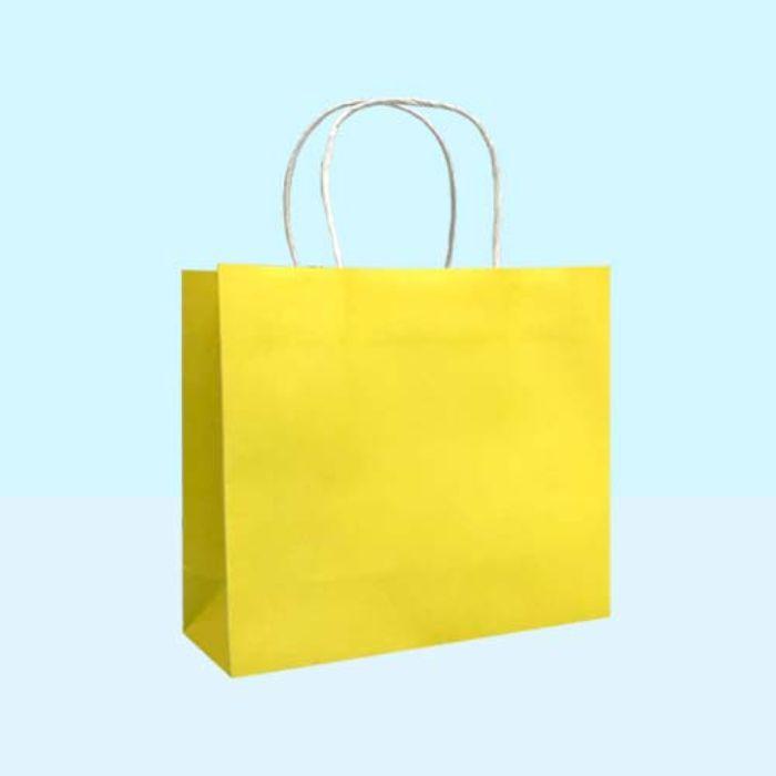 Túi giấy màu kraft không logo có sẵn