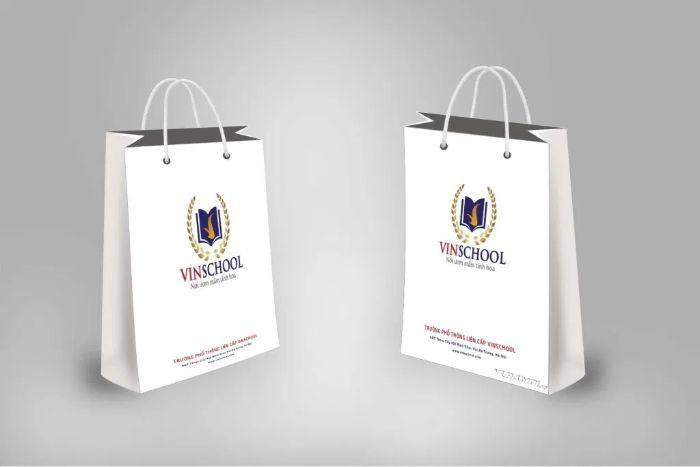 Cỡ túi phụ thuộc vào kích thước và hình dáng của sản phẩm bên trong, mục đích sử dụng