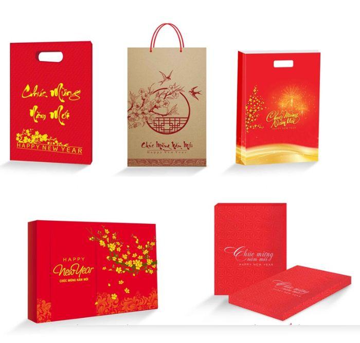 Về bản chất thì loại túi giấy dùng để đựng lịch giống như bao bì của sản phẩm