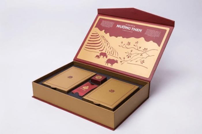 Mẫu hộp giấy này được yêu thích bởi cách sử dụng khá tiện lợi