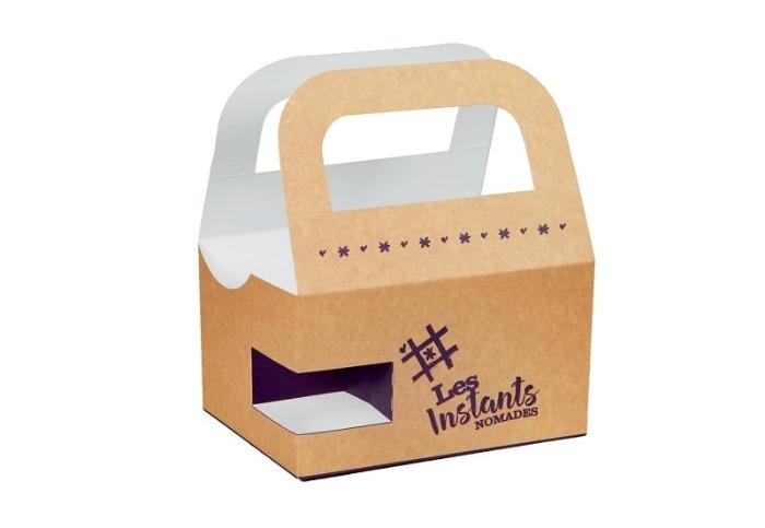 Mẫu hộp giấy đựng thực phẩm mang đi