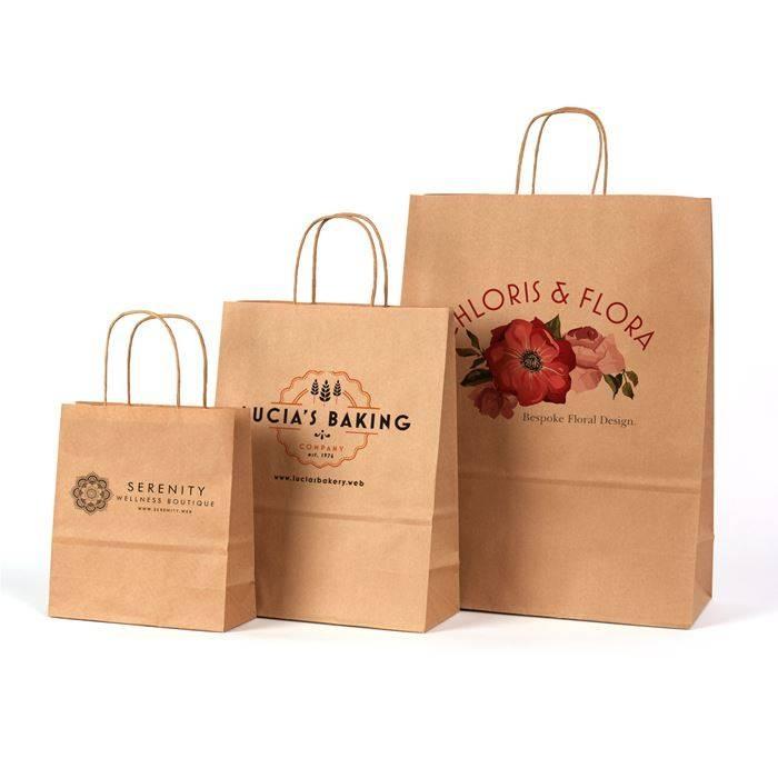 Túi giấy kraft chính là giải pháp tối ưu cho môi trường, không gây hại khi phân hủy