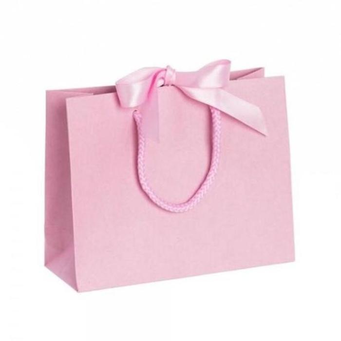Túi giấy thời trang có màu sắc nhẹ nhàng, sang trọng