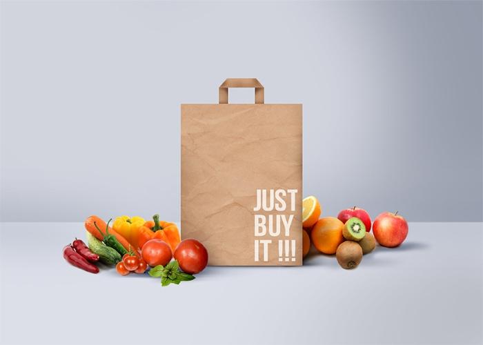 Túi giấy đựng thực phẩm đẹp và chắc chắn