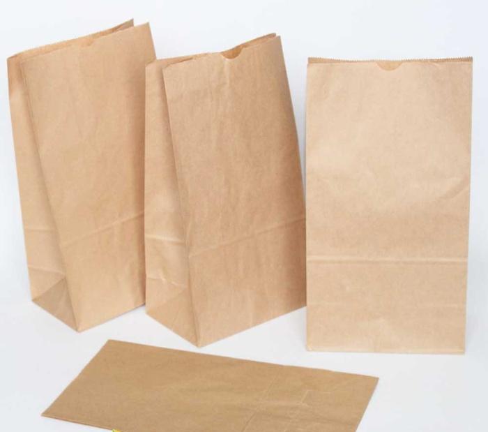 Mẫu túi giấy đựng bánh mì không có quai